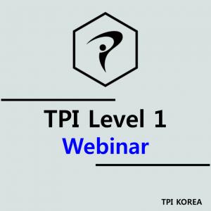 TPI Level 1 Webinar